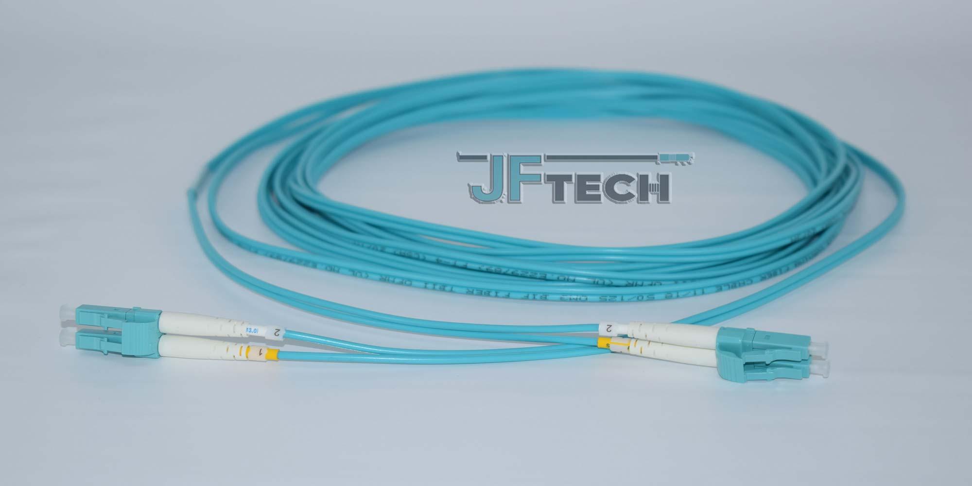 JF-Patchcord-OM3-Duplex-Aqua-LCLC