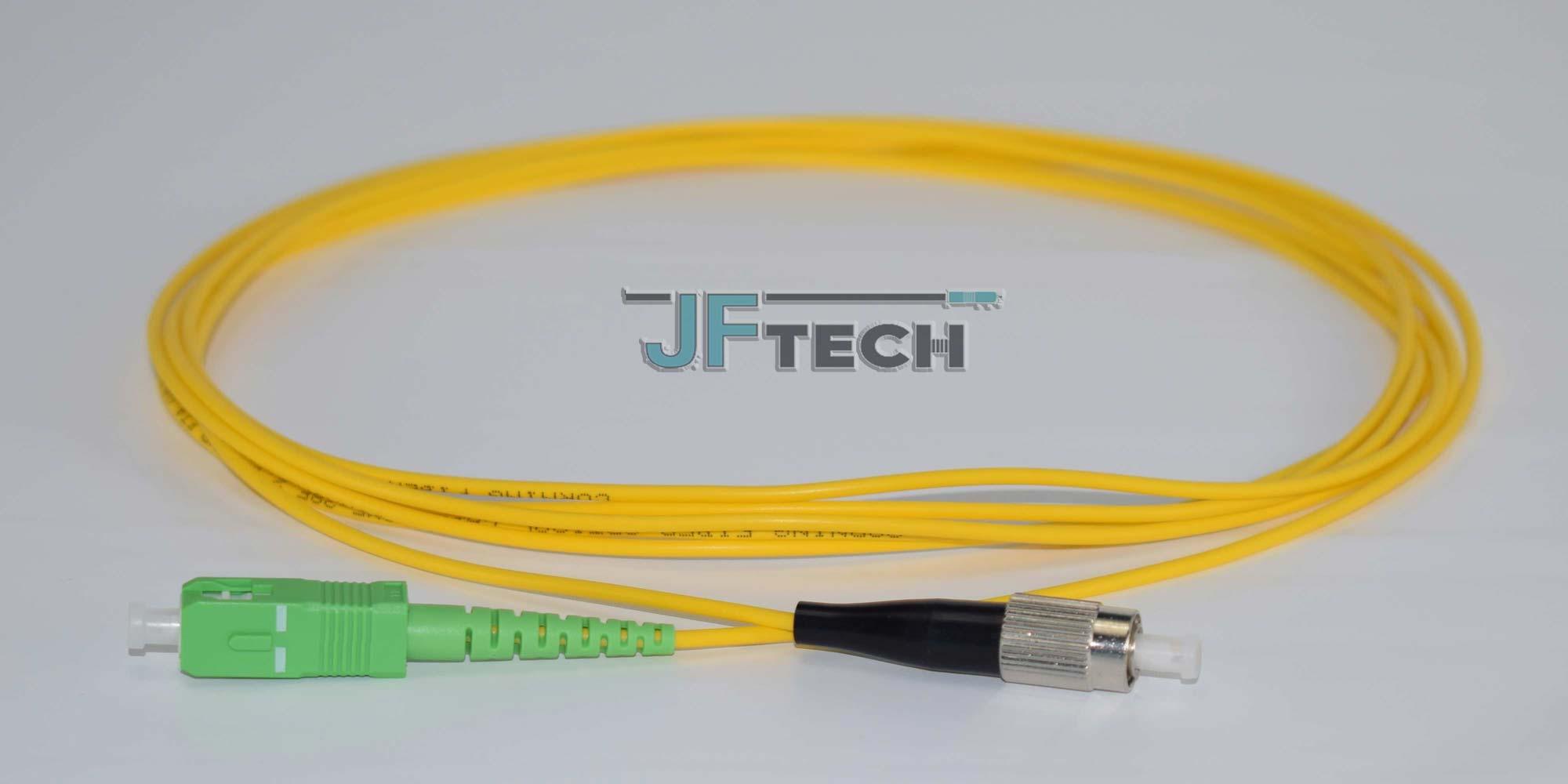 JF TECH INC - Fiber Optic Patchcord Singlemode Simplex FC-SCA